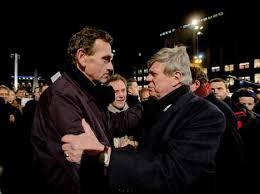 In actie op de Dam met ex-minister Opstelten na de aanslag op de redactie van Charly Hebdo.